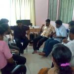 Sajeevan taking class