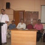Municipal Chairman addressing the participants