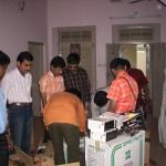 Distribution of PCs