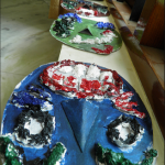 Masks made by children