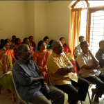 Parents take part in counselling session