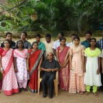 Students with Communicative English trainer Sri. Soman