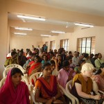 Audience attending the function