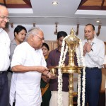 Kerala CM inaugurating the 4th phase of Insight by lighting the lamp