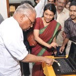 Inauguration of audio library