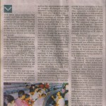 The New Indian Express Report on the Job Fair