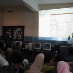 Mujeeb Taking Class